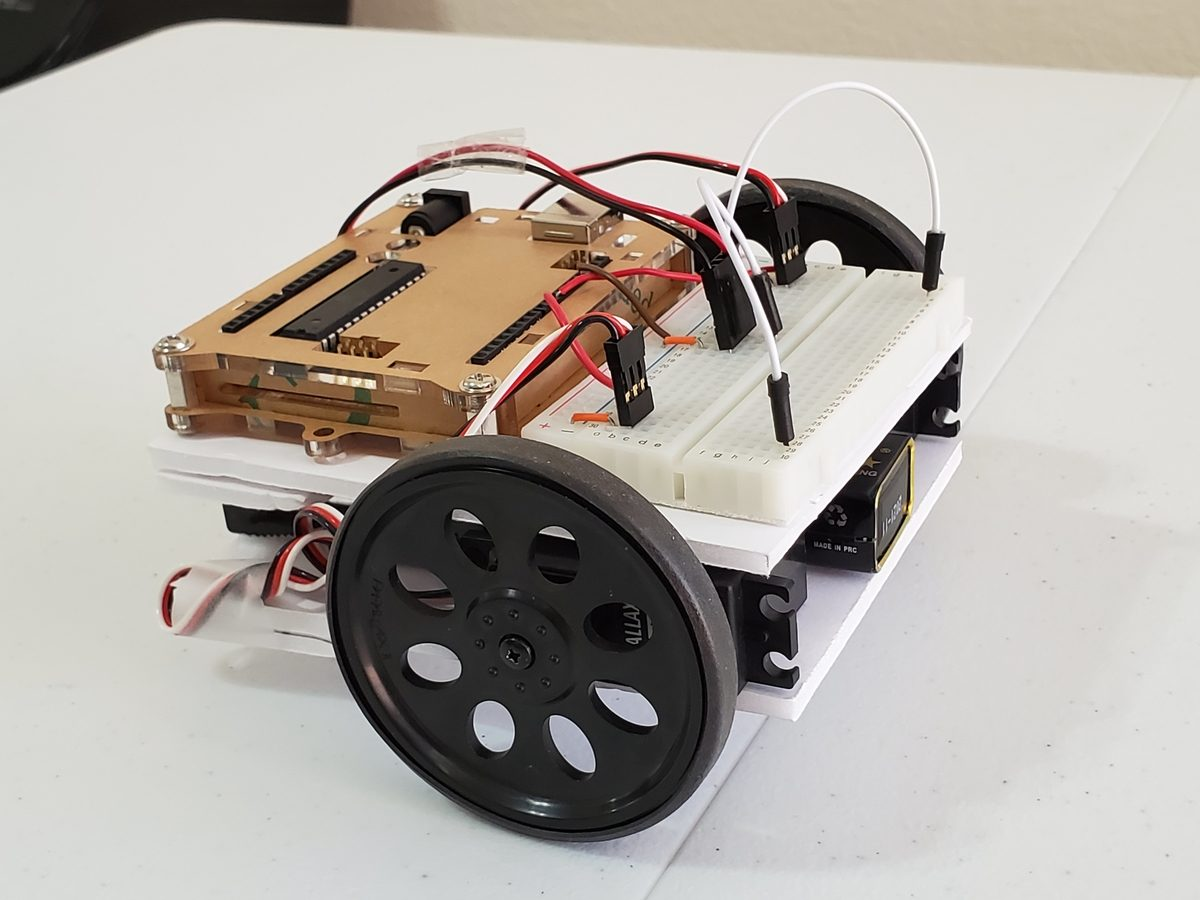 How to Make an Autonomous Wheeled Robot Move | Arduino