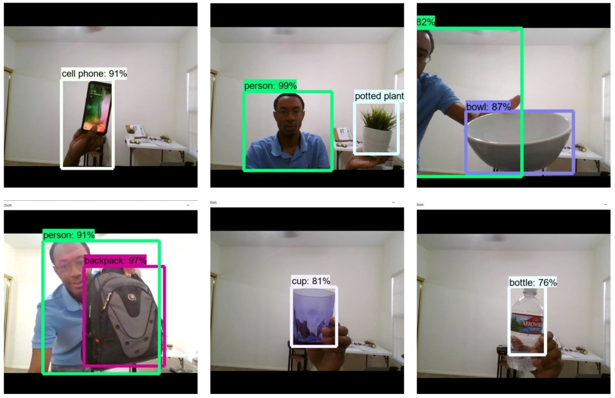 Real-Time Object Recognition Using a Webcam and Deep Learning