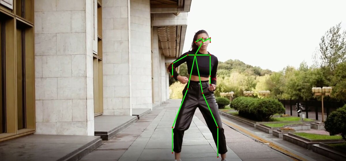 Human Pose Estimation Using Deep Learning in OpenCV
