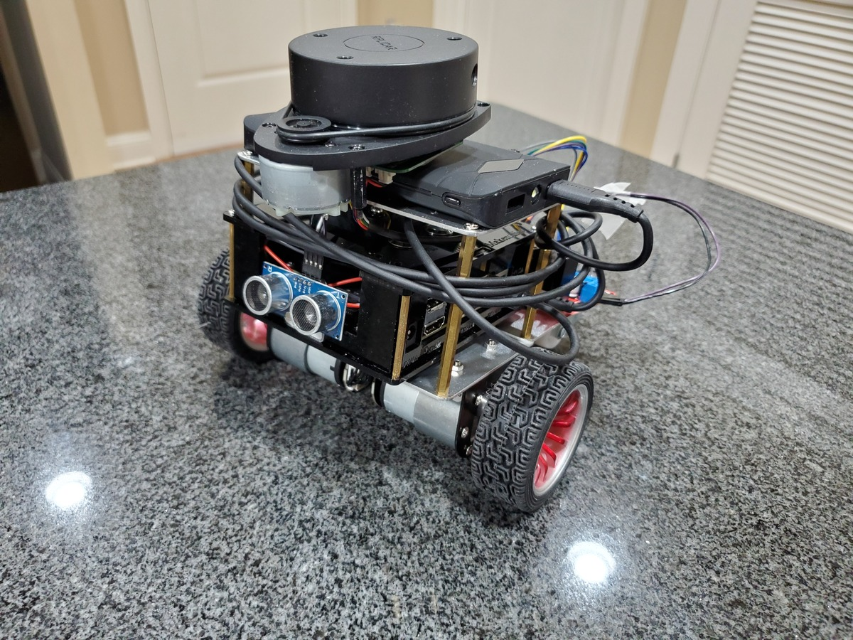 Obstacle Avoiding Robot Using a DC Motor and Arduino