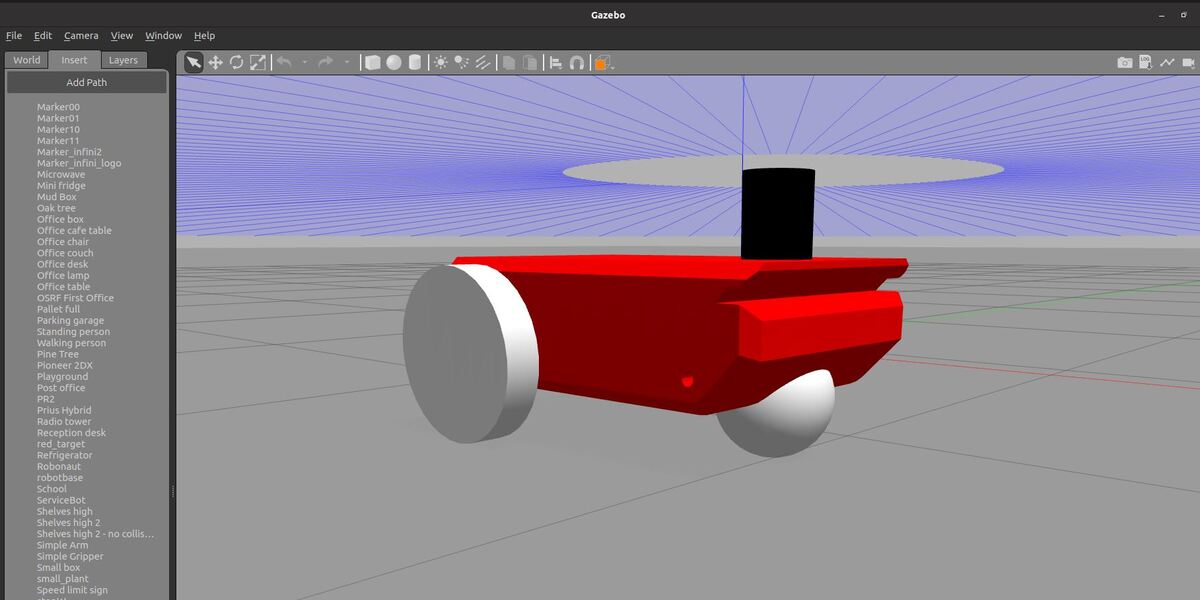 How to Load a Robot Model (SDF Format) into Gazebo – ROS 2